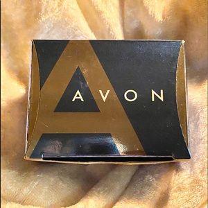 Avon Jewelry - Avon goldtone heart bracelet & earring set NEW